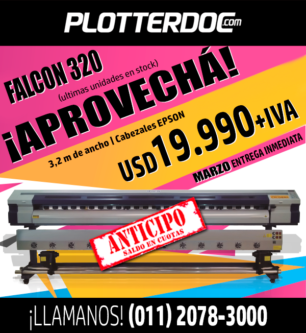 Es TU oportunidad de imprimir en gran formato