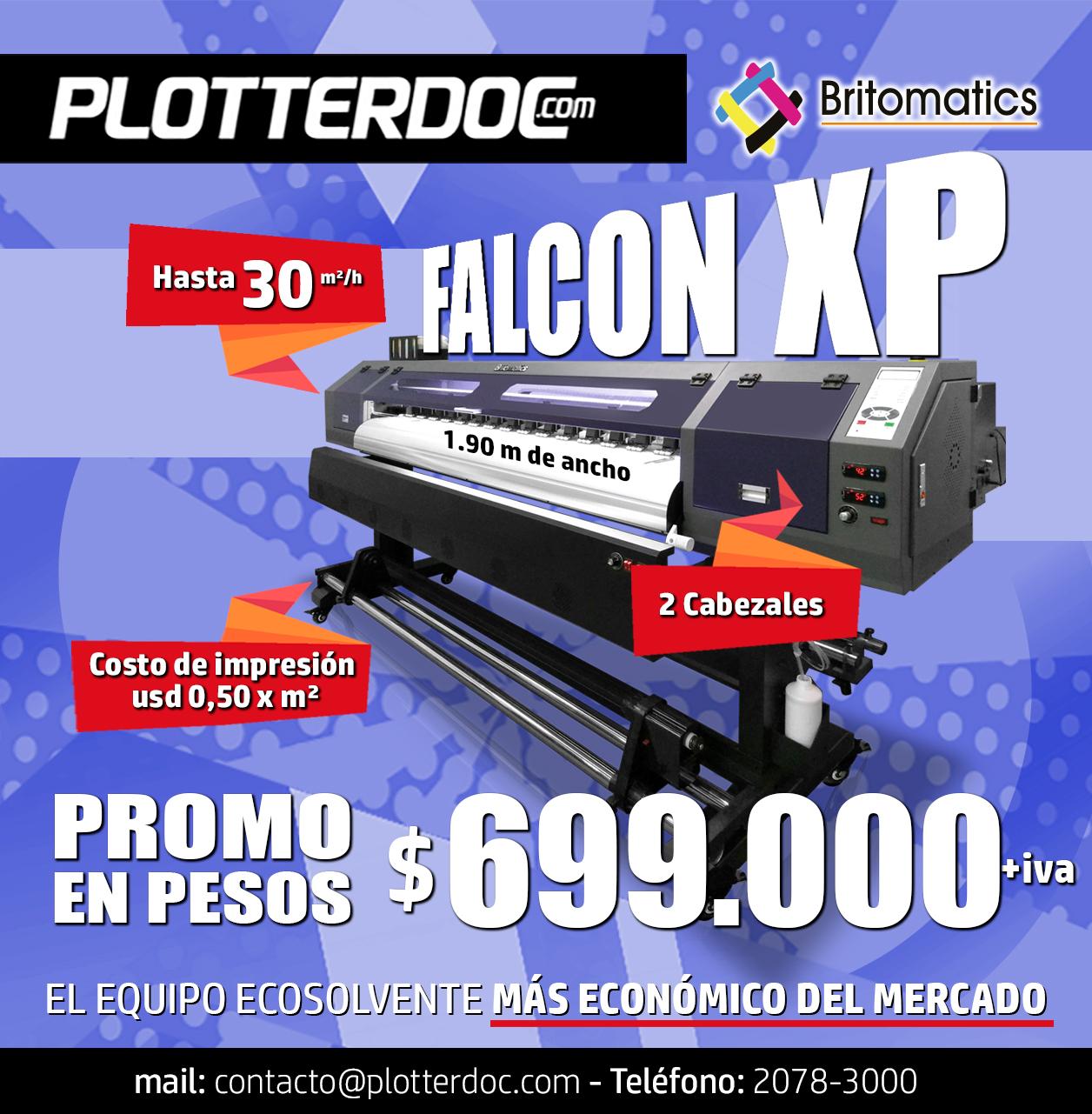 ¡La Falcon XP de Britomatics, a un precio inédito en pesos!